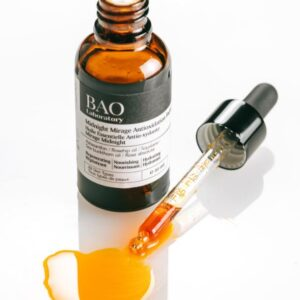 serum best for reducing the appearance of pores and discoloration by bao laboratory