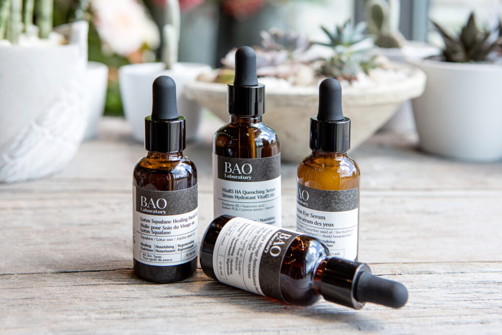 serums best for sensitive to normal skin available only at bao laboratory