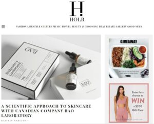 bao laboratory featured on holr magazine